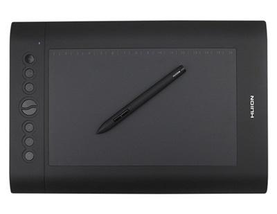 Qoo10 - Huion H610 Pro Graphics Drawing Pen Tablet (Black