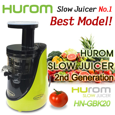 Jr Slow Juicer Generation 2 Review : Qoo10 - [?CLEARANCE SALE!?] HUROM BEST MODEL! 2nd Generation Slow Juicer HN-GB... : Home Appliances