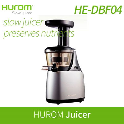 Hurom Slow Juicer Germany : Qoo10 - [HUROM] HUROM Slow Juicer HE-DBF04 / Juicer extractor blender / Slow S... : Home Appliances