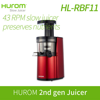 Hurom Slow Juicer China : Qoo10 - [HUROM] HUROM Slow Juicer HL-RBF11 / Juicer extractor blender / Slow S... : Home Electronics