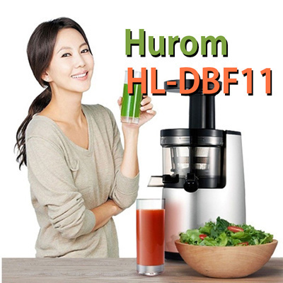 Qoo10 - New NEW 2015 HUROM SLOW JUICER Fruits vegetable Extractor 43RPM HL-DBF... : Home Electronics