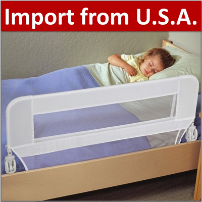 Qoo10 BY Safety Bed Rail Baby Fence Kids Guard Barrier Crib Cot