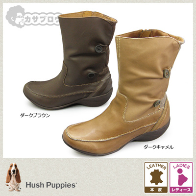 d9f0ebe8714 Hush Puppy Hush Puppies Women's Boots L50497 Genuine leather hpl50497 【Free  Shipping】 【10P07Feb16】