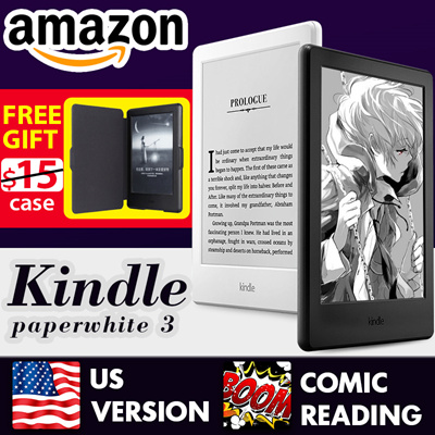 HXR Mobile!!100% Authentic Amazon Kindle 8th Generation(CN)◎ Kindle  Paperwhite 3(USA) Free Gift