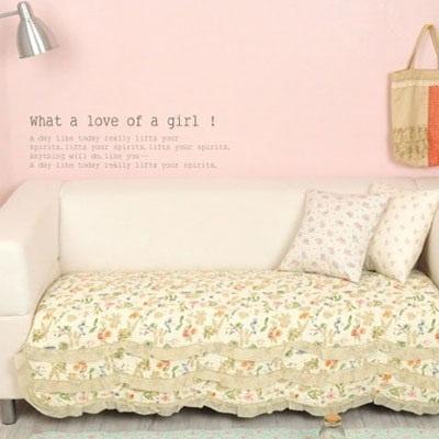 Qoo10 Multipurpose Quilt Sofa cover Pad Carpet Patchwork Fabric