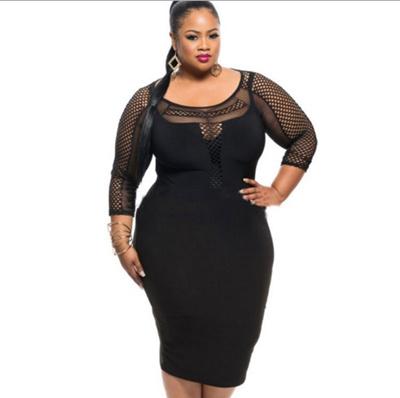 Qoo10 Dress Plus Size Womens Clothing