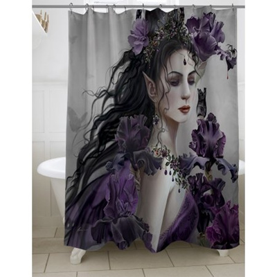 IDG Thumbprintz Lirielle Shower Curtain 71 X 74