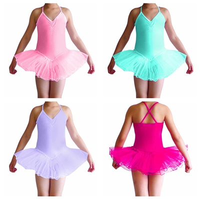 8185c8c37 Qoo10 - iEFiEL Kids Girls Princess Tutu Ballet Dance Dress Leotard ...