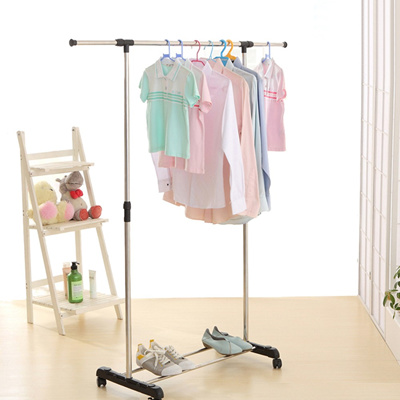 Qoo40 IKAYAA Metal Height Adjustable Coat Clothes Garment Hanging Gorgeous Height Of Coat Rack