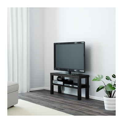 Ikea Lack Black Tv Table Easy To Emble