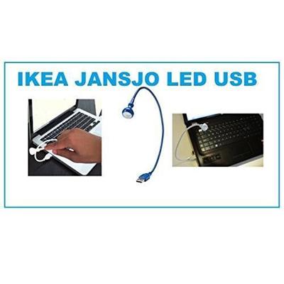 Ikea Jansjo Led Usb Lamp Light Blue
