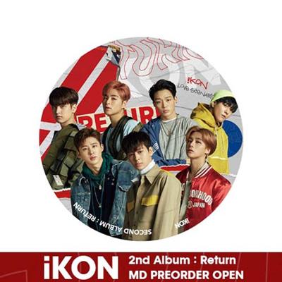 [YG Entertainment]【iKON Official】【iKON RETURN PHOTO STAND / PIN BUTTON】  ikon return