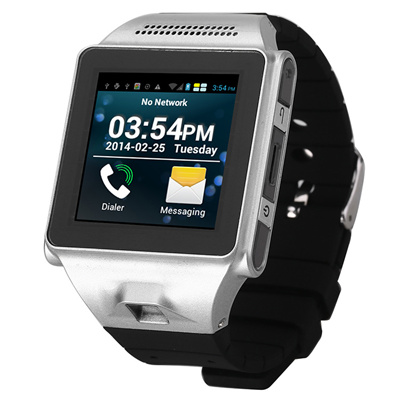 IKWEAR IK8 Smart Watch Phone MTK6577 Dual Core Android 4 0 Bluetooth GPS  Wifi Playstore Skype Camera 5 0 MP Wrist Phone Newest
