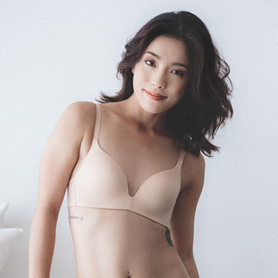 a8b52e506e4bf Qoo10 - Everyday Carefree Wireless Everyday T-Shirt Bra in Nude ...