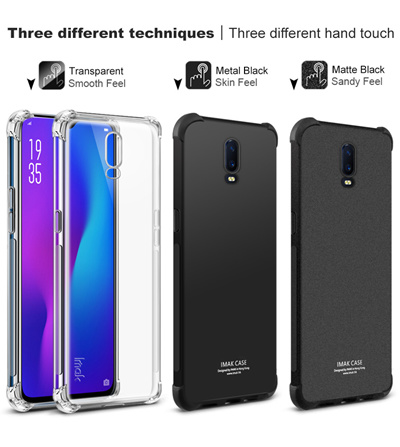 IMAK (HK)Oppo R17 Pro R15 Case Casing Cover Tempered Glass Plus R11 R9 R7  N1 Mini