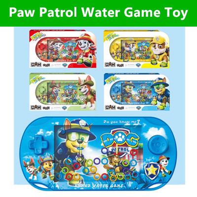 ★IMP HOUSE★Paw Patrol Toy Water Ring Toss Child Handheld Game Machine  Parent-Child Interactive Game