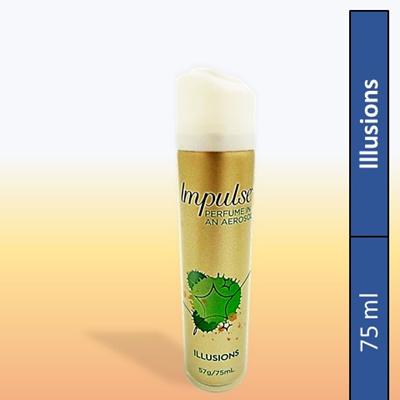643d93d49ee2 ImpulseImpulse Illusions Perfume In An Aerosol for Women 75ML