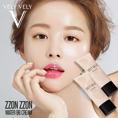 【IMVELY Imbrie Official】 VELY VELY Mochi Mochi Water Light Skin BB Cream  Zzon Zzon