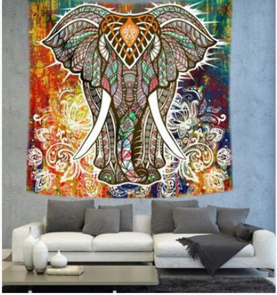 Qoo10 - India style tapestry background wall wall decoration hanging ...