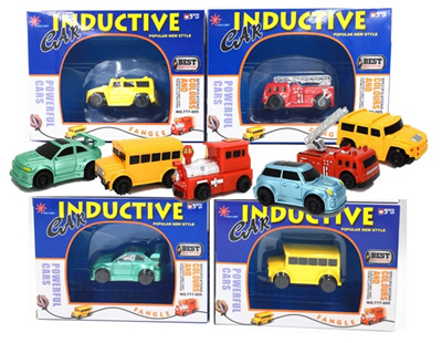 Qoo10 - Inductive Toy Car : Toys