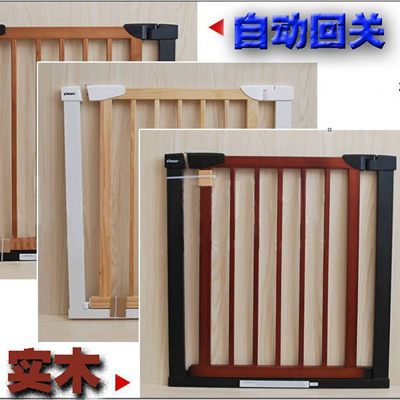 Infant And Children S Wooden Safety Gates Baby Balcony Stairs Barrier Dog Fence Fencing