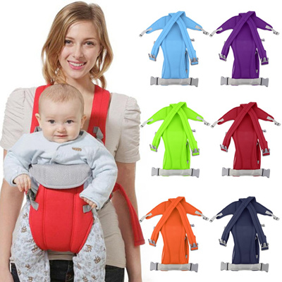c35ef4dfad6 Qoo10 - Infant Baby Carrier Sling Wrap Rider Backpack   Baby   Maternity