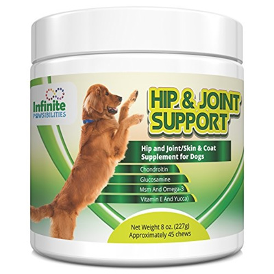 qoo10 infinite pawsibilities hip joint coat supplement for dogs