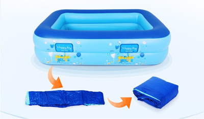 Qoo10 Inflatable Baby Swimming Pool Eco Friendly Pvc