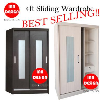 Qoo10 Sliding Wardrobe Furniture Deco