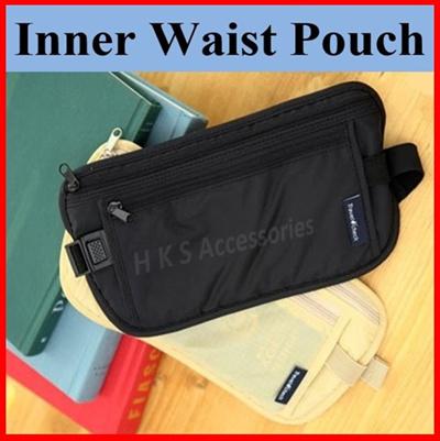 Qoo10 - Inner Waist Pouch   Bag   Wallet d9cf53349a12