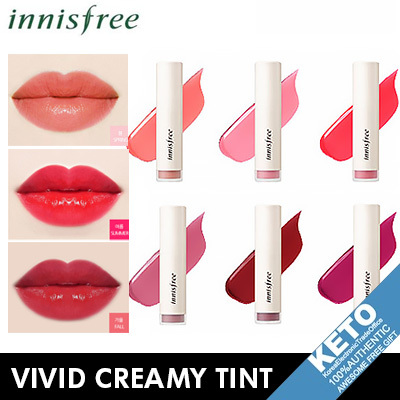 Qoo10 - [innisfree]vivid creamy tint/lip tint/12 colors
