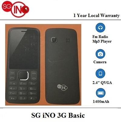 fd8cb8de606 INO Basic 3G Phone (1 Year INO Singapore Warranty)