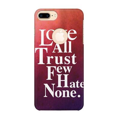 inspirational quotes design apple iphone plus printed