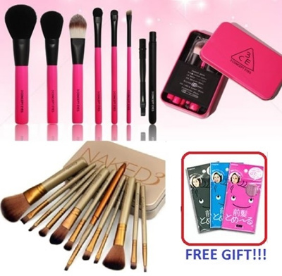 0fc75fd43 Qoo10 - [Instock] Naked / 3ce / Hello Kitty Makeup Brushes : Cosmetics