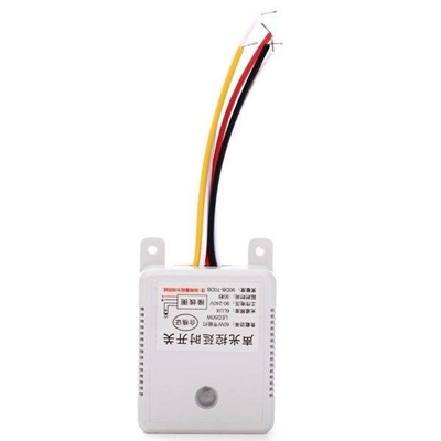 Intelligent Auto On Off Light Sound Voice Sensor Switch Time Delay AC  160-250V