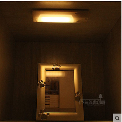 Intelligent Led Human Sensor Lamps Bedroom Night Light Cabinet Light Rechargeable Emergency Lights Urinate 智能led人体感应灯