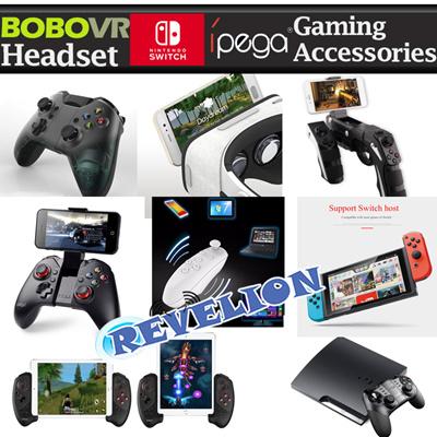 Ipega★NEW★[Stocks in SG]BOBOVR Z5 Headset iPega Nintendo Switch Bluetooth  Wireless Gamepad Remote Control