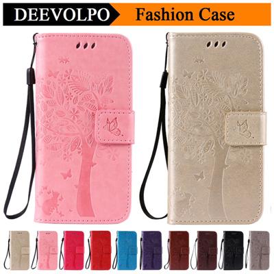 e21b4f0ab72 Qoo10 - iPhone 4 4S 5C 5 5S SE 6 6S 7 Plus Leather Case iPod Touch 5 6 Tree  Ca... : Mobile Accessori.