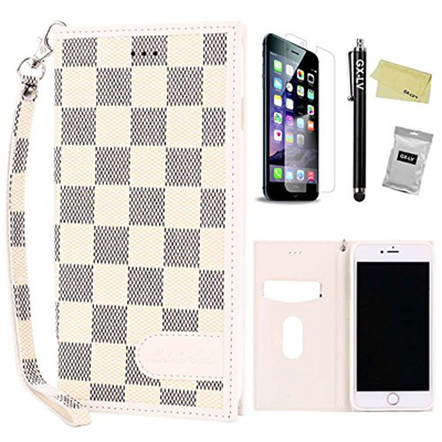dd01f5e7f81 Qoo10 - iPhone 6 Plus Leather Case,iPhone 6S Plus Leather Case,GX-LV Slim  Luxu... : Mobile Accessori.