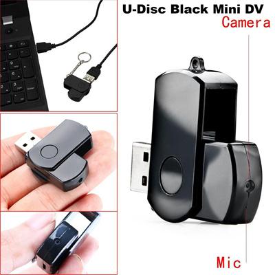 U-Disk SPY Camera Mini Hidden DV ( Black   White ) Key Chain Usb 955461f3ee