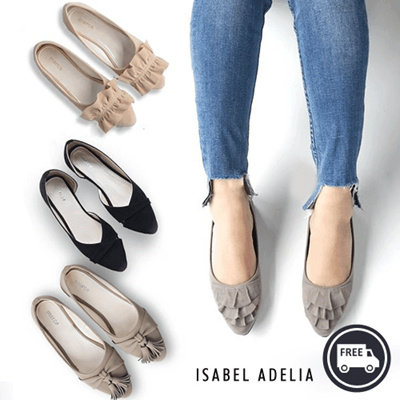 7a9016677  Isabelladelia  Flat Shoes Collection - Free Shipping - Size 37-40 women  shoes good quality