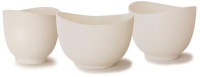 Qoo10 - iSi Basics Flexible Silicone Mixing Bowls, Set of 3, 1 QT ...