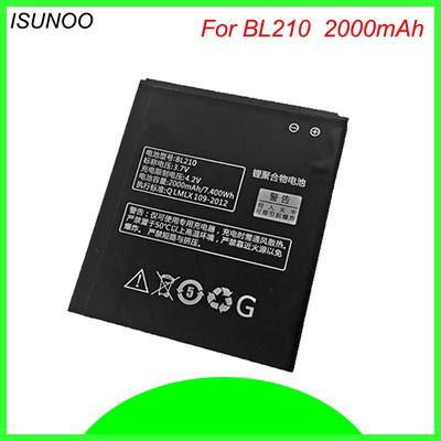 size 40 d5f9a 0c612 ISUNOO BL 210 BL210 BL-210 Battery Replacement For Lenovo A536 A606 S820  S820E A750E A770E A658T S65