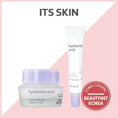 Its skin[ITS SKIN] Hyaluronic Acid Moisture Cream 50ml / Hyaluronic Acid  Moisture Eye Cream 25ml