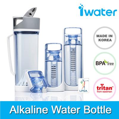 Qoo Made In Korea IWater Alkaline Water Ionizer Bottle BPA - Alkaline water bottle