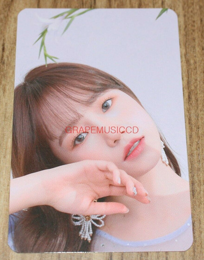 IZ*ONE IZONE HEART*IZ POP-UP STORE OFFICIAL GOODS JO YU RI PHOTO CARD  PHOTOCARD NEW