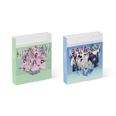 [CJ Entertainment]IZ*ONE IZONE - HEART*IZ [Violeta+Sapphire ver  SET]  2CD+4Photocards+Free Gift