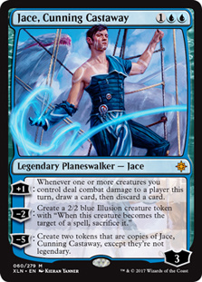 qoo10 jace cunning castaway nm condition ixalan magic the