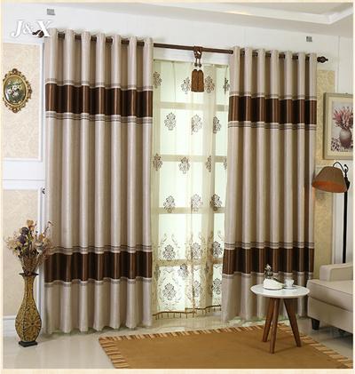 Jacquard Blackout Curtain 80 Rate High Quality European Curtains Soft Fabric Home Decor