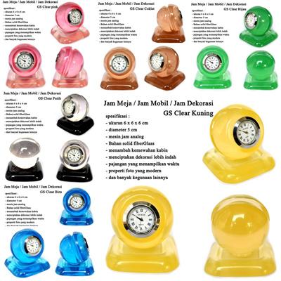 Qoo10 - Jam Meja Fiber 3D   Furniture   Dekorasi 3a12836390